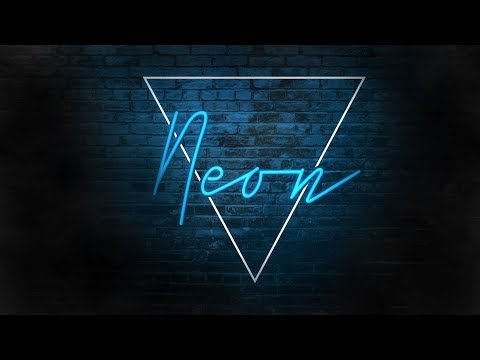 Neon Text Effect In Adobe Photoshop | Text Effects In photoshop | Photoshop Tutorial | Techy Aditya thumbnail