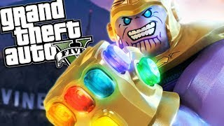 GTA 5 Mods - ROBLOX THANOS MOD w/ SUPER POWERS (GTA 5 Mods Gameplay)