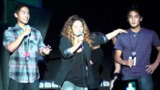 2010 ISA NY: Kevin Wu (KevJumba), Lydia Paek, Ryan Higa (NigaHiga) intro, jokes