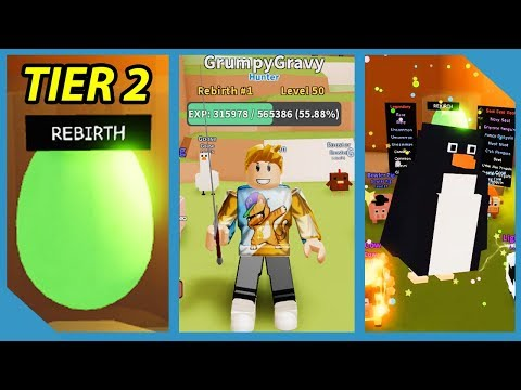 What Happens When You Rebirth In Roblox Hunting Simulator 2 |