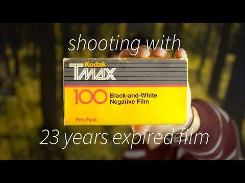 Shooting Expired Film - TMAX 100