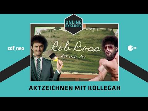 Aktzeichnen mit Kollegah | NEO MAGAZIN ROYALE mit Jan Böhmermann - ZDFneo