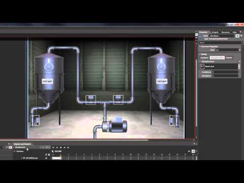 HMI Animation for Visual Studio & Expression Blend (No Programming Required)