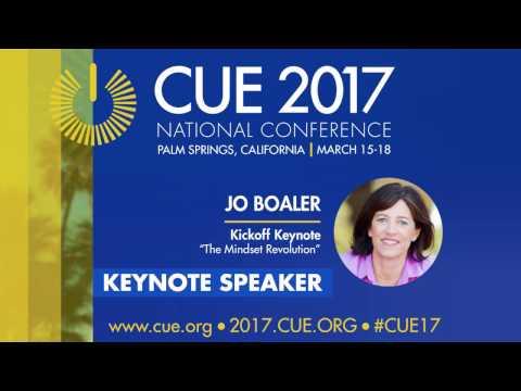 CUE 2017 National Conference Kick Off Keynote- Jo Boaler
