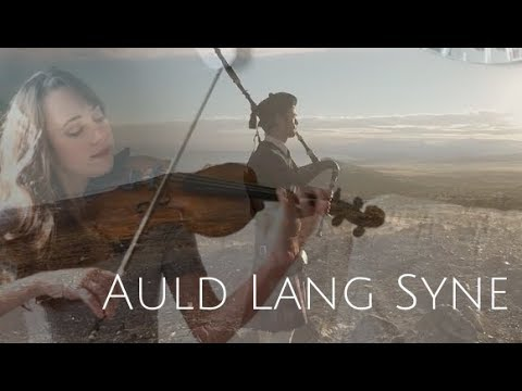 Auld Lang Syne (Instrumental Violin and Bagpipes) + Free Sheet Music
