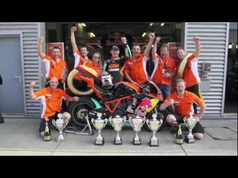 Martin Bauer KTM RC8 R IDM Superbike Meister 2011