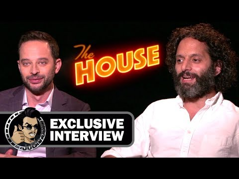 Nick Kroll and Jason Mantzoukas Funny  for THE HOUSE JoBlo.com 2017