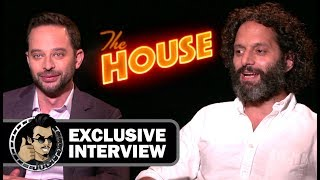 Nick Kroll and Jason Mantzoukas Funny Interview for THE HOUSE (JoBlo.com) 2017