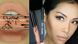 Kylie Cosmetics Kris Jenner Todd Kraines Velvet Lip Kit Review Swatch Tutorial