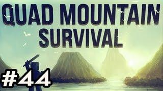 Minecraft: Quad Mountain Survival w/Nova Ep.44 - HELLO SNOW GOLEM