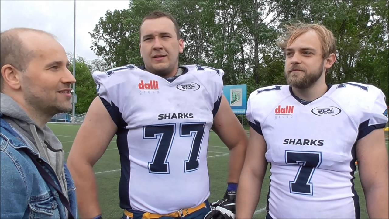 Wywiad z zawodnikami Sharks po meczu z Eagles