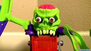 Dr. Bones Color Lab Playset Hot Wheels Color Shifters Cars