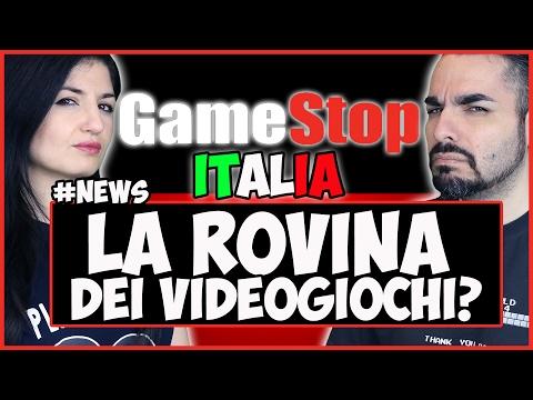 """GAMESTOP ITALIA """"LA ROVINA DEI VIDEOGIOCHI""""? + RUBANO PS4 A BAMBINI MALATI #NEWS"""