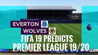 Everton vs Wolverhampton premier league prediction matchweek 4 19/20