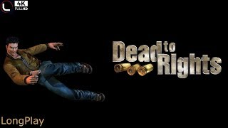 pS2 - Dead to Rights - LongPlay HQ:60FPS