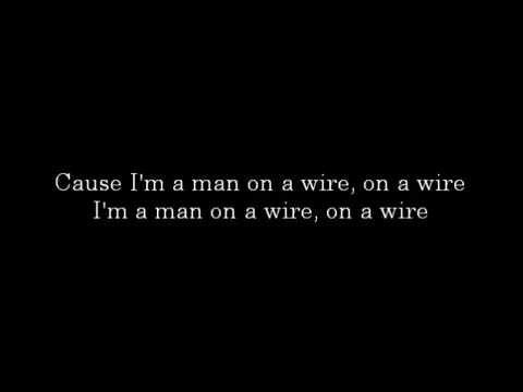 Man on a Wire - The Script LYRICS