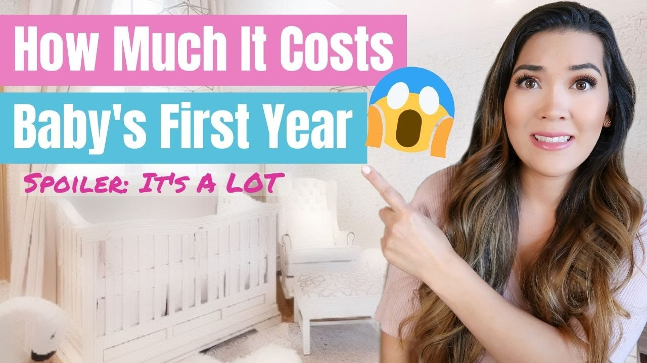 HOW MUCH IT COSTS TO HAVE A BABY FIRST YEAR 😱 Breaking Down EXACTLY How Much One Of My Babies Cost