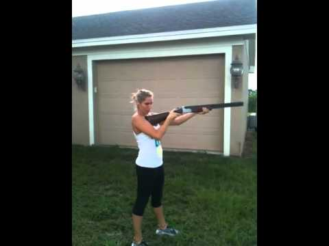 Hot girl fails with shotgun thumbnail