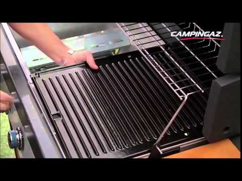 innovazioni campingaz bbq a gas instaclean youtube. Black Bedroom Furniture Sets. Home Design Ideas