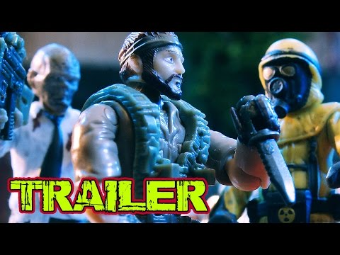 Zombie Apocalypse - Stop Motion | Escape from Chernobyl Zombies Trailer
