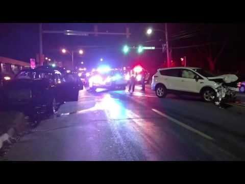 Accident 2017-03-08 Delaware County, PA corner of Springfield Road and Route 320