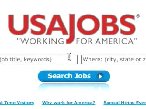 USAJOBS site redesign