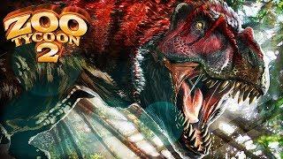 FEATHERY TYRANNOSAUR - YUTYRANNUS EXHIBIT | Zoo Tycoon 2: Palaeo Park [#5]