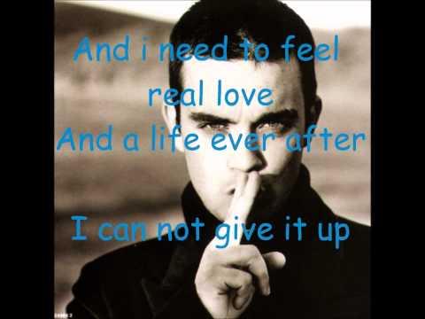 Robbie Williams - Feel [Lyrics]