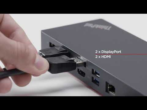 ThinkPad Hybrid USB-C with USB A Dock Product Tour - YouTube
