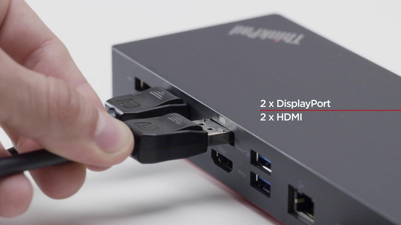 ThinkPad Hybrid USB-C with USB A Dock Product Tour