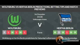 Wolfsburg vs Hertha Berlin PREDICTION (by 007Soccerpicks.com)