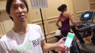 Lumo Smart Pants analyse running