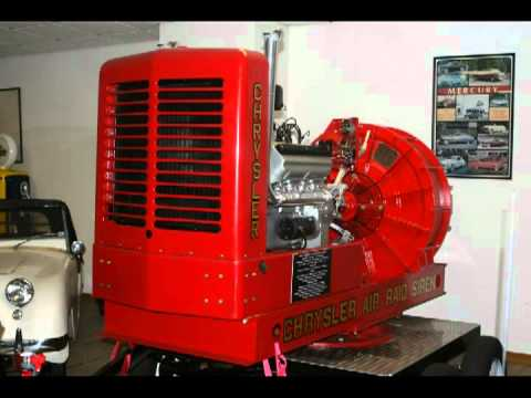 Chrysler Air Raid Siren Attack Insane ECHO!!!