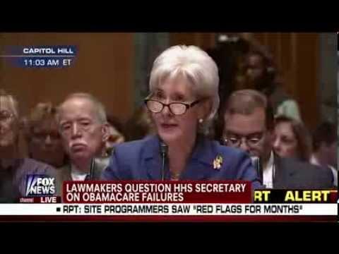 GOP Sen. Mike Crapo Grills Kathleen Sebelius: