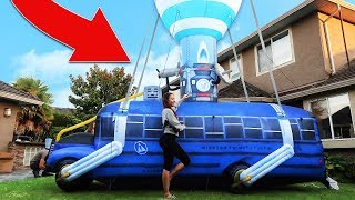 We bought the Fortnite Battle Bus IN REAL LIFE!!