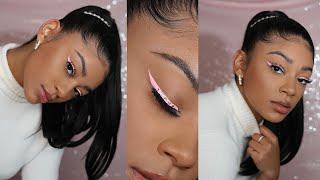 Holiday Get Ready With Me! Hair & Makeup | jasmeannnn