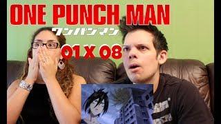 One Punch Man Season 1 Episode 8 REACTION!