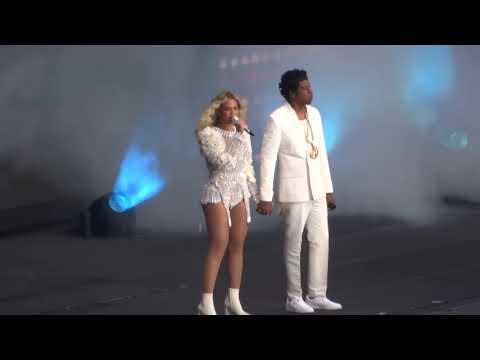 Beyoncé & Jay Z - OTR II Opening (Paris 14/07)