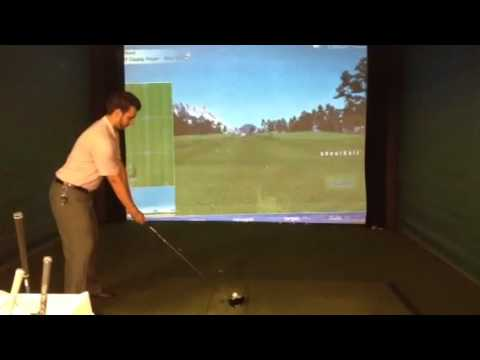 My Golf Swing/ Simulator in golf galaxy