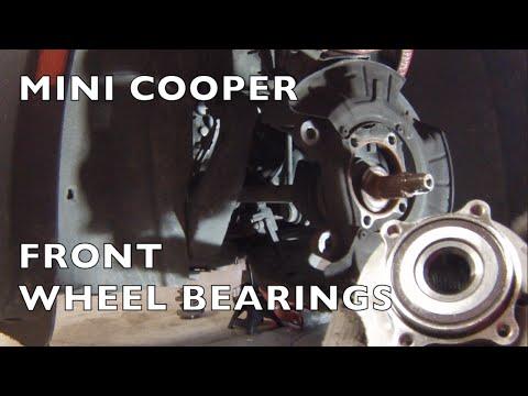MINI Cooper Replace Front Wheel Hub Bearings or Rear