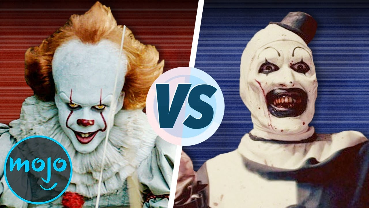 Pennywise Vs Art The Clown Youtube
