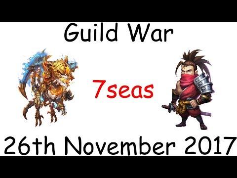 Castle Clash: Guild War 7seas 2017-11-26