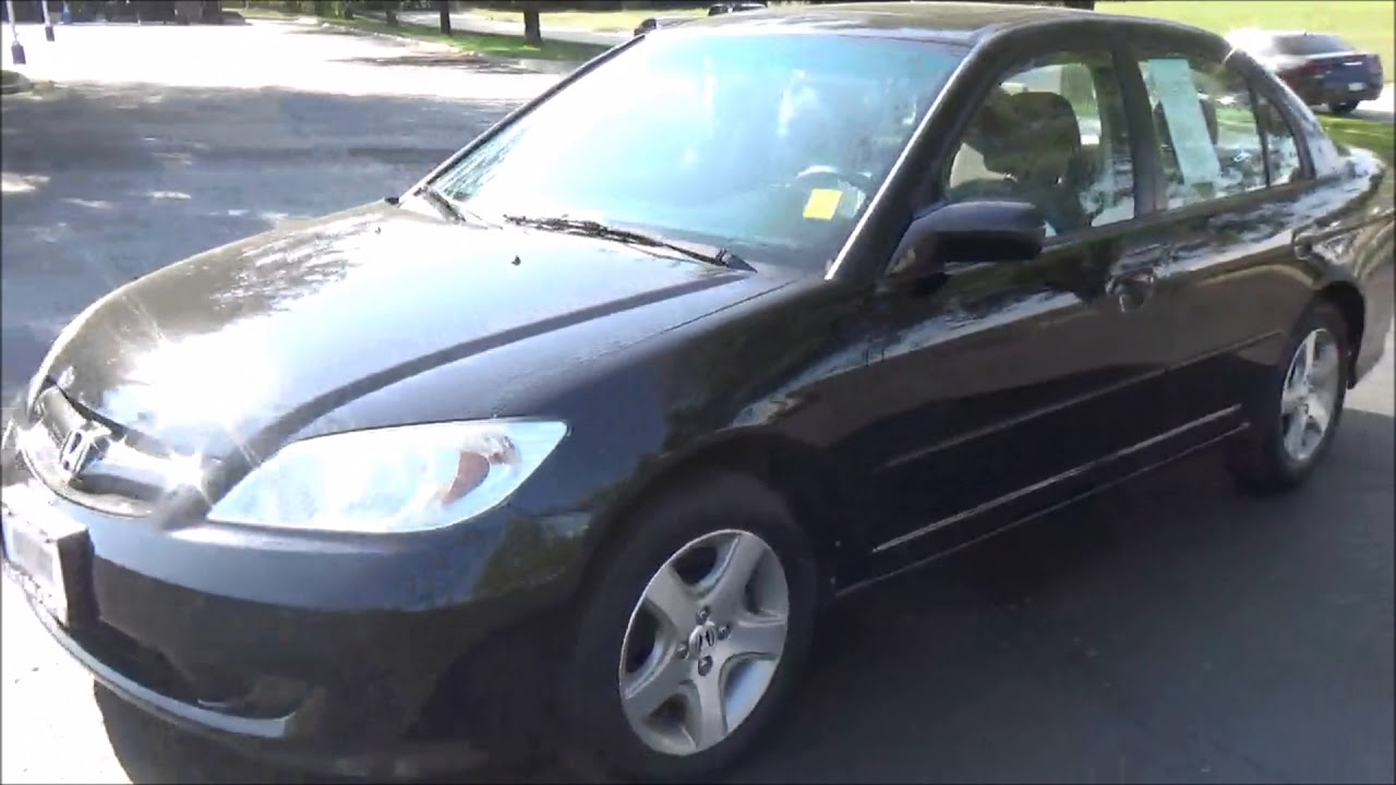 Used 2004 Honda Civic Sedan Ex For At Cars Of Bellevue An Omaha Dealer