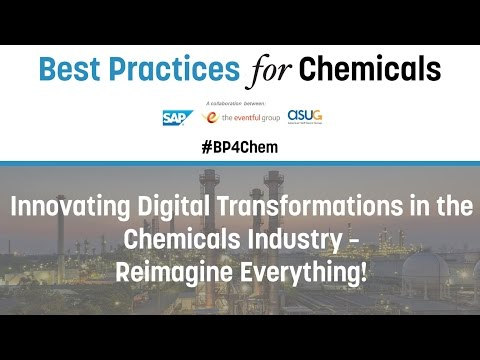Keynote Panel: Innovating Digital Transformations in the Chemicals Industry - Reimagine Everything!