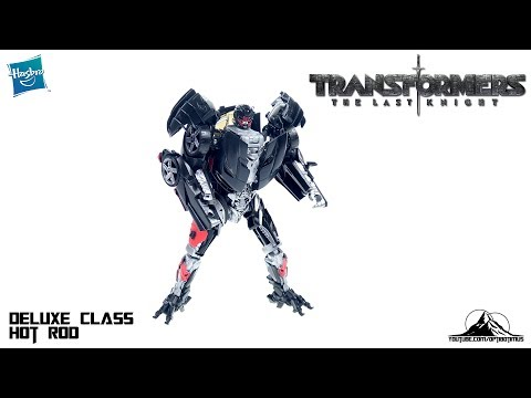 Optibotimus Reviews: Transformers The Last Knight Premier Deluxe Class HOT ROD