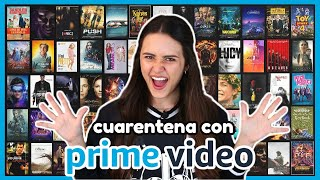 100 PELÍCULAS de AMAZON PRIME VIDEO para ver en Cuarentena 🎬