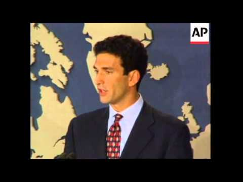USA: NEW SECRETARY FOR PUBLIC AFFAIRS JAMES RUBIN PRESS CONFERENCE