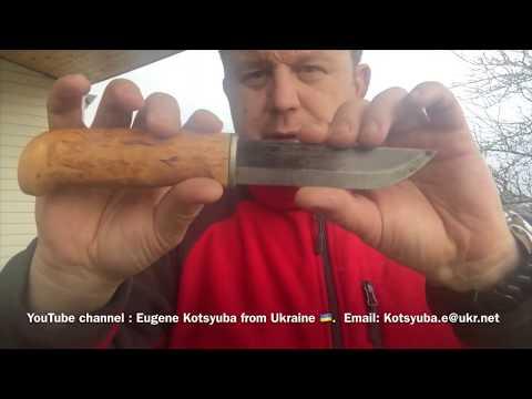 О качестве финских Ножей из Финляндии ( рекомендую посмотреть)