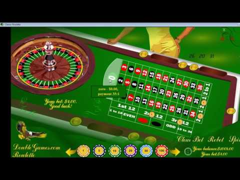 Video Roulette betting system martingale