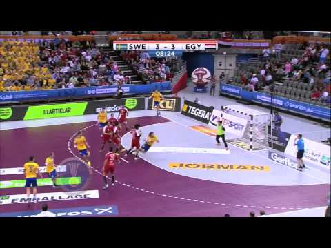 Egypt vs. Sweden - Heiner Brand's Playbook | IHFtv - World Men's Handball Championship Qatar 2015